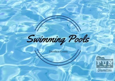 Public Swimming Pools in Nashville and Davidson County