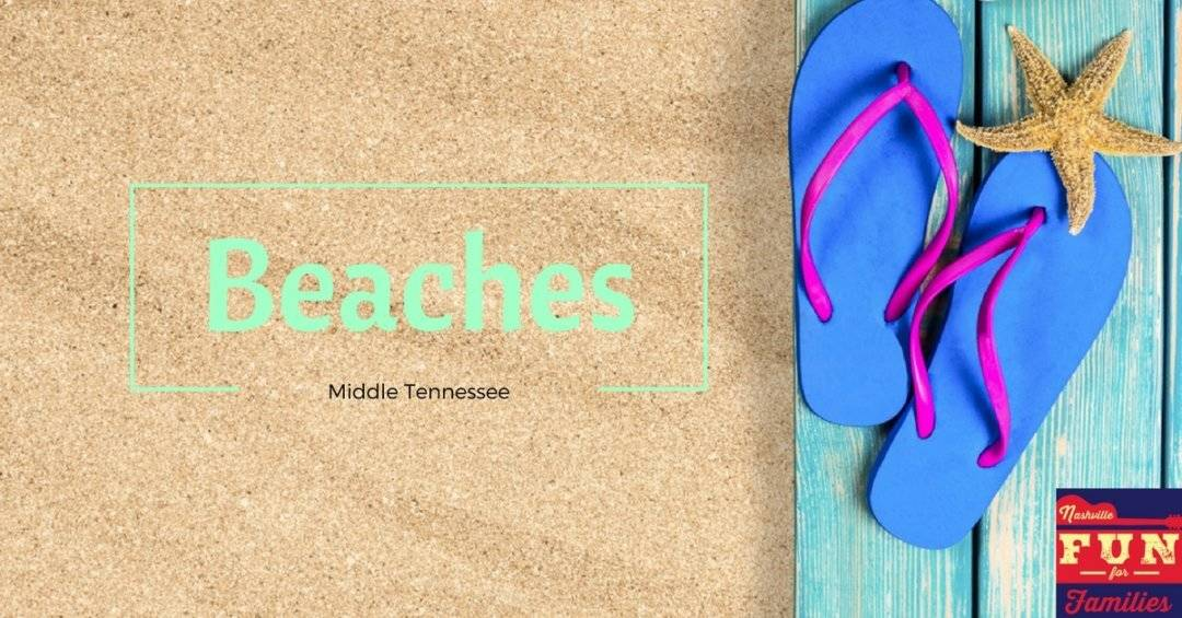 Beaches in Nashville and Middle Tennessee