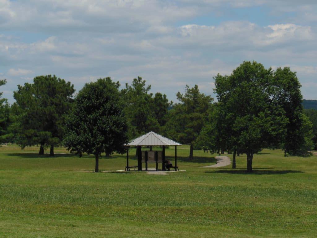 Carnton Plantation landscape view