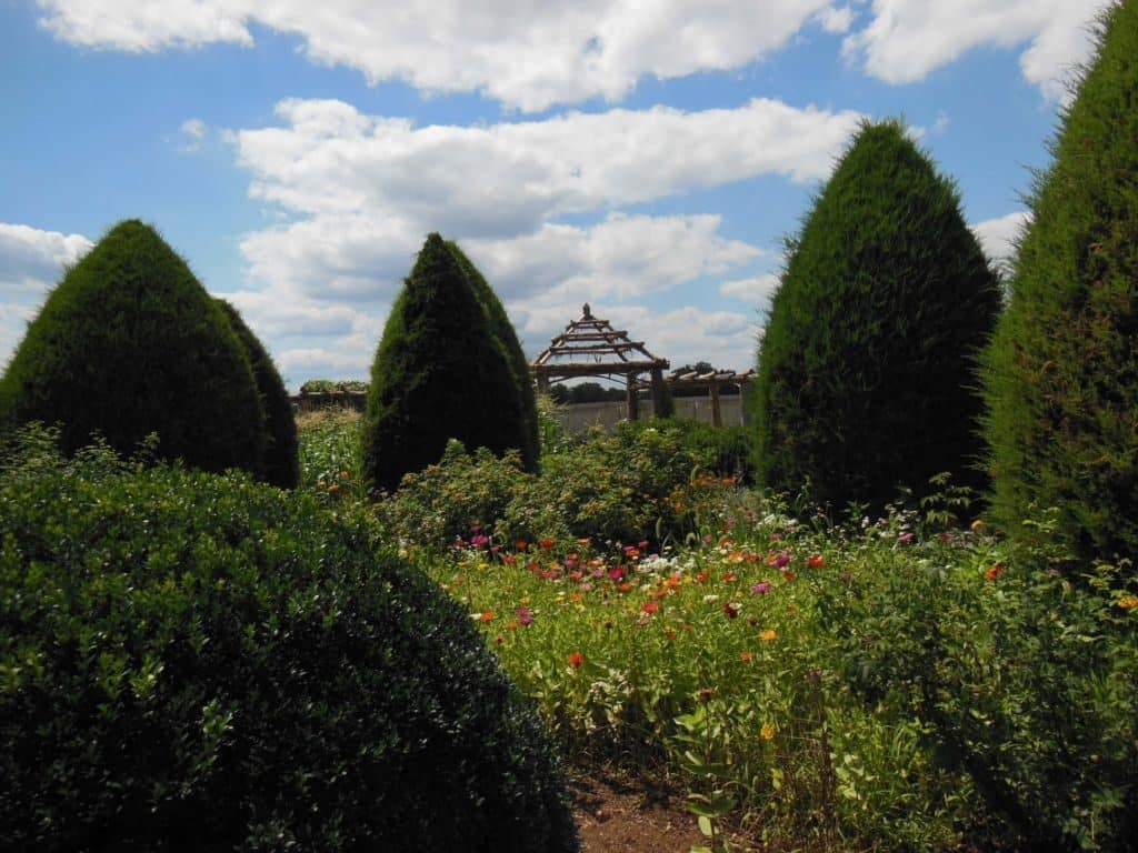 Carnton Plantation garden walkway
