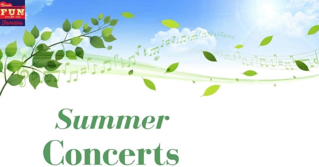 summer concerts in Nashville and Middle Tennessee