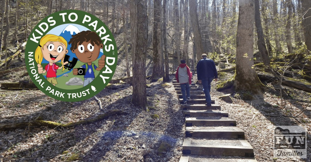Kids to Parks Day - Take a hike in the woods on May 19, 2018
