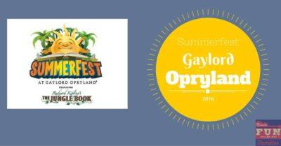Summerfest at Gaylord Opryland