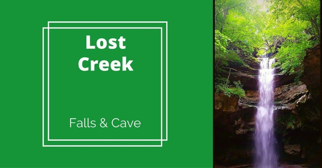 lost creek falls and cave