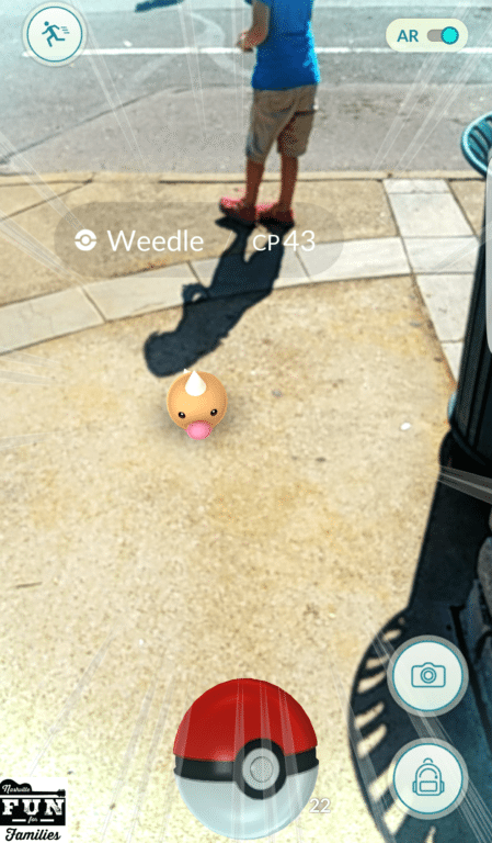 Pokemon Go Weedle
