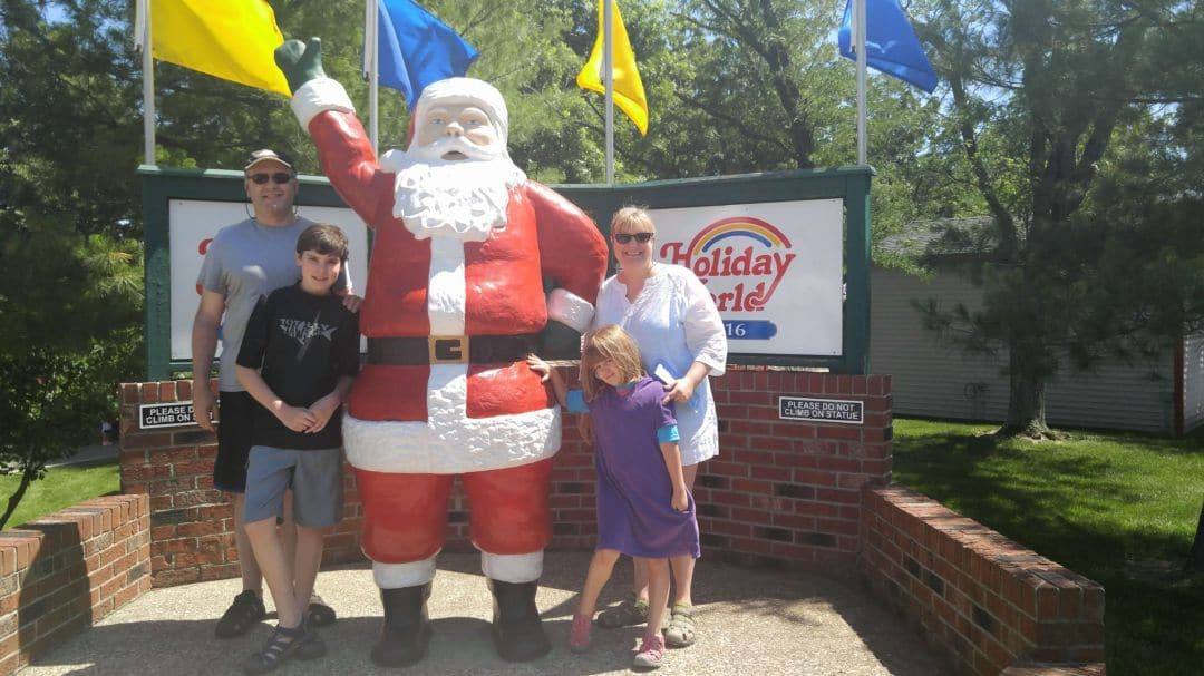 Holiday World Family picture