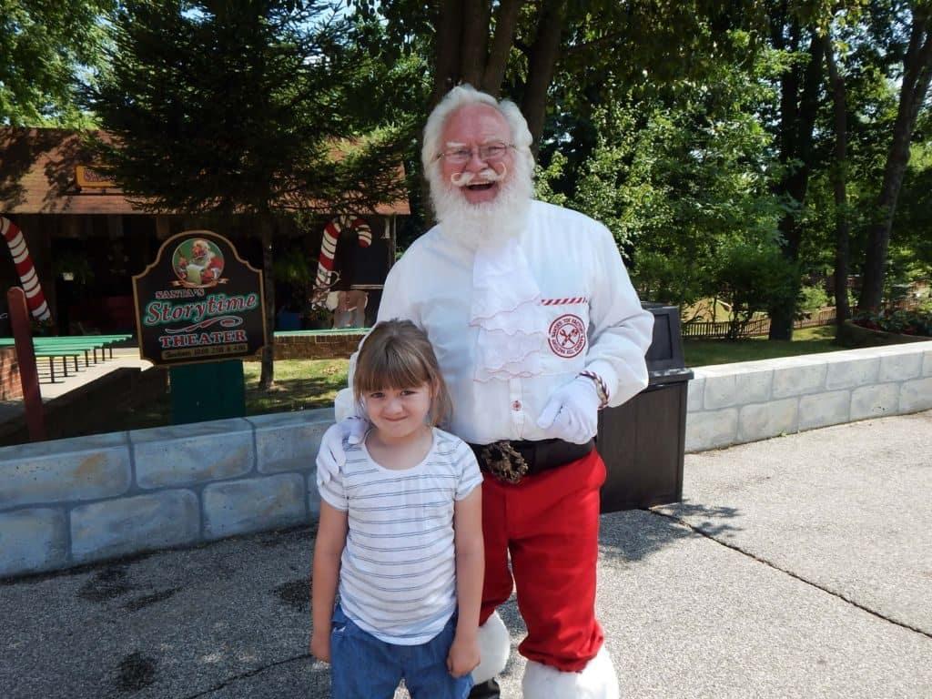 Holiday World Santa
