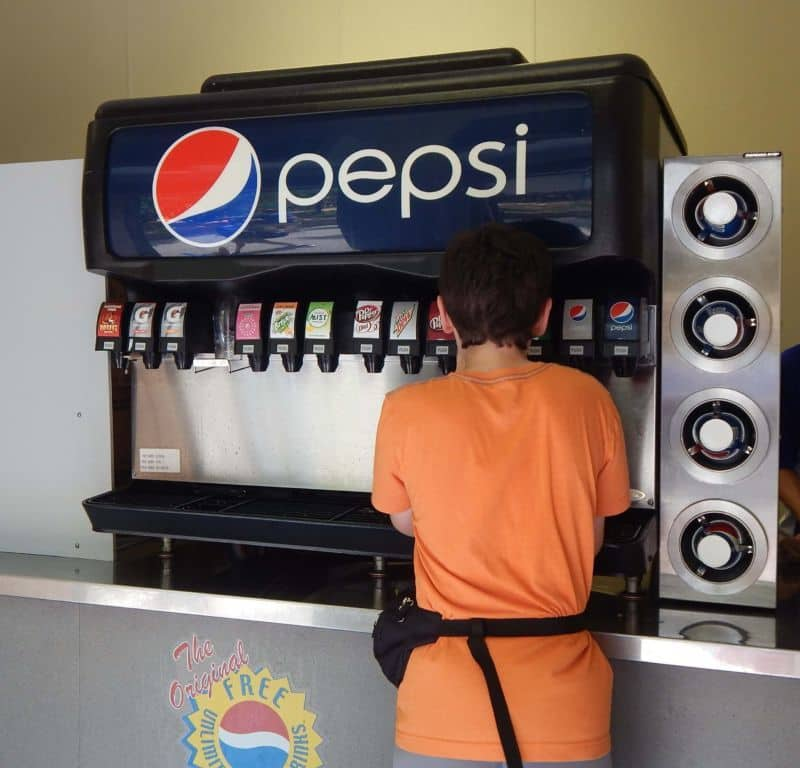 Holiday World free soda 2