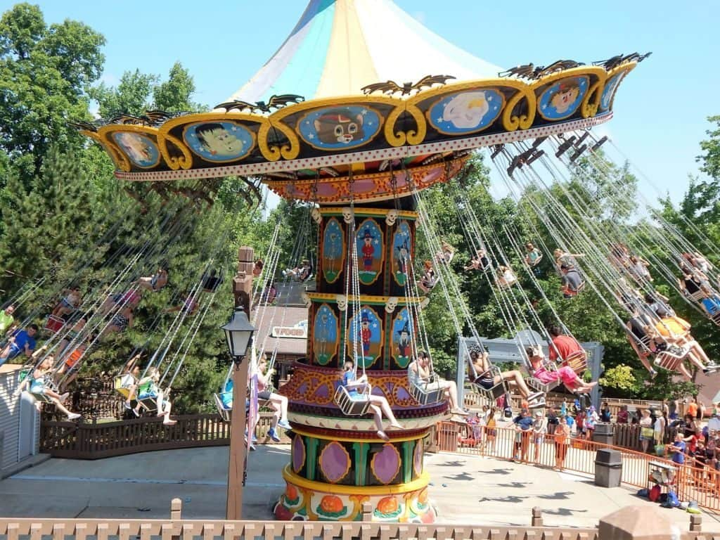 Holiday World swings