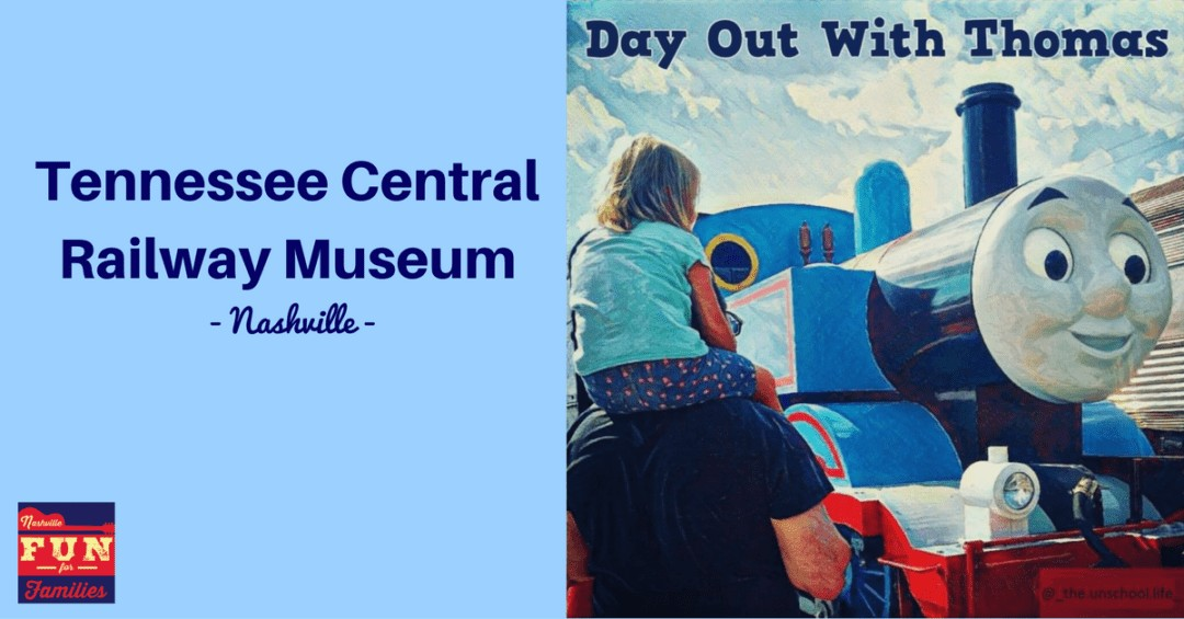 Day out with Thomas - Tennessee Central Railway Museum