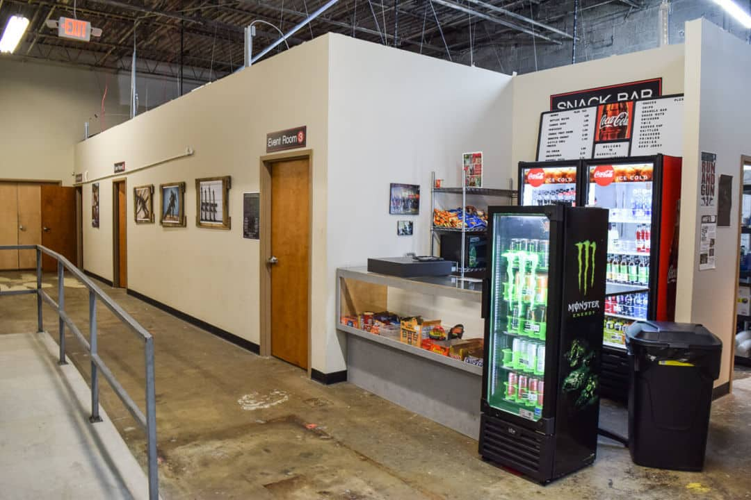 Nashville Airsoft snack area