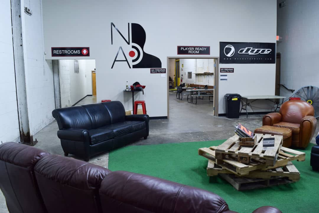 Nashville Airsoft waiting area