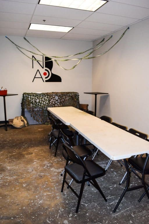 Nashville Airsoft Prep Room