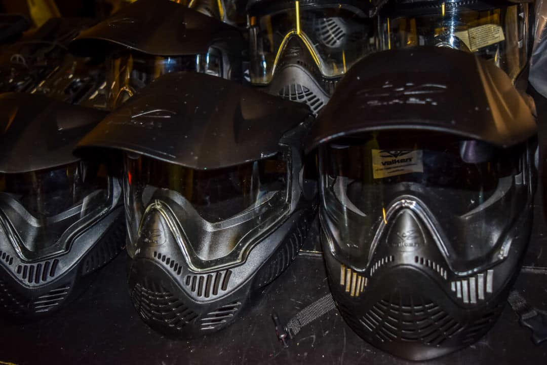 Nashville Airsoft face protection