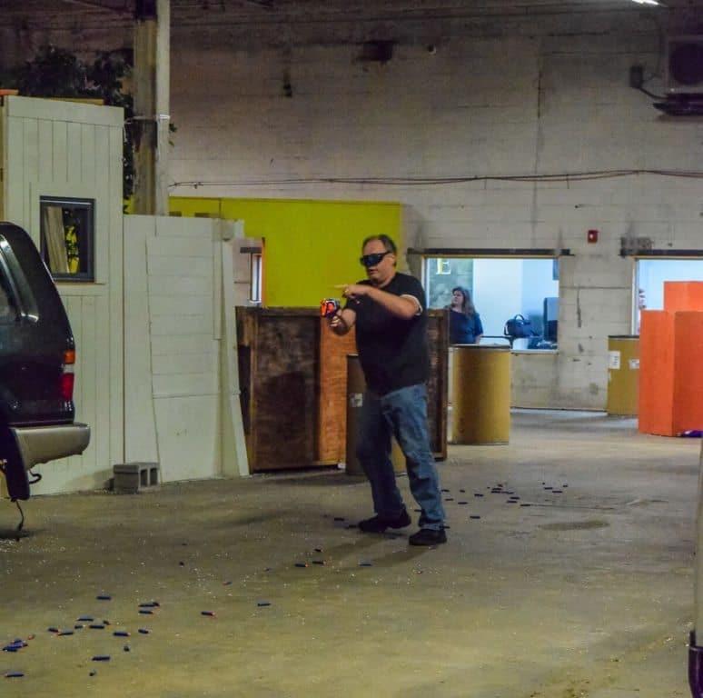 Nashville Airsoft Nerf Gun battle - 4