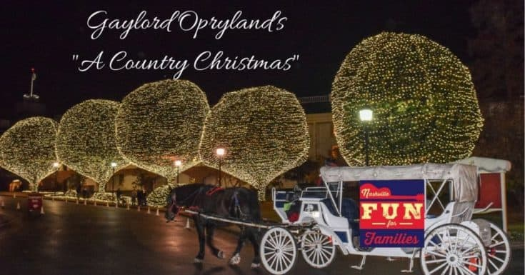 Celebrate A Country Christmas with the Gaylord Opryland
