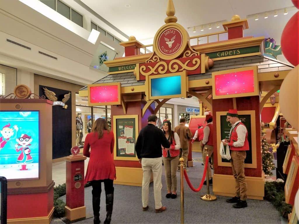Santa's Flight Academy - enterance