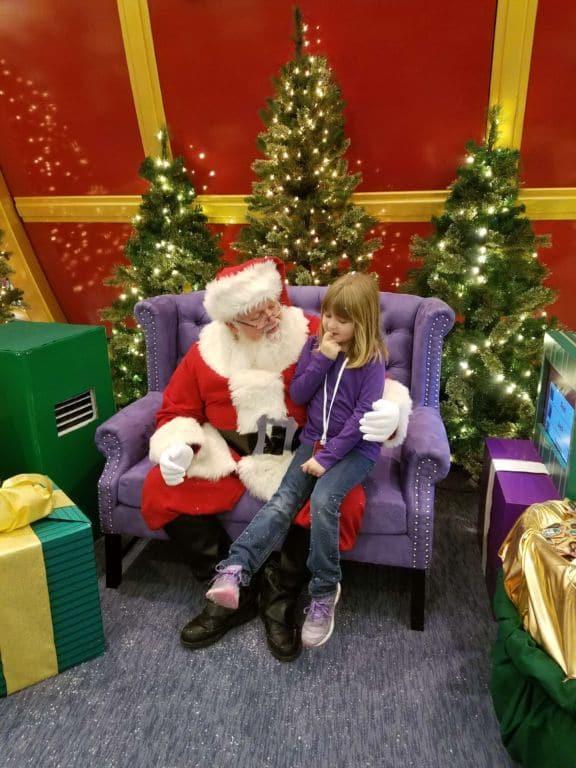 Santa's Flight Academy - Santa Visit 1