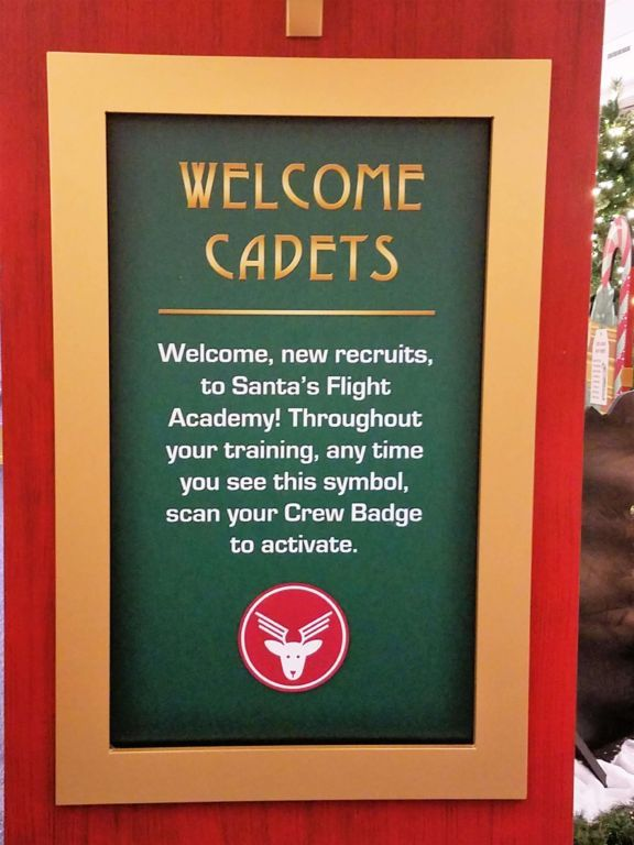 Santa's Flight Academy - Welcome cadets