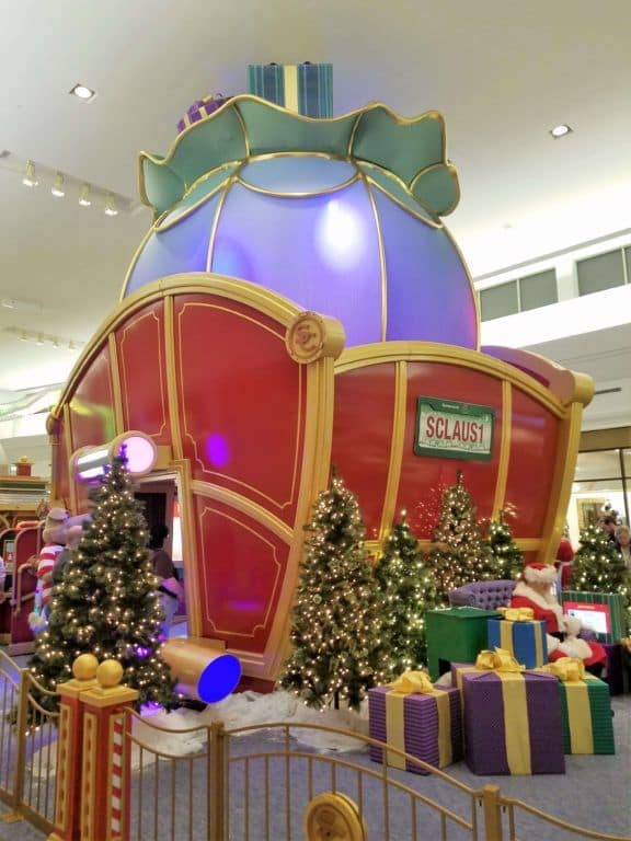 back of sleigh
