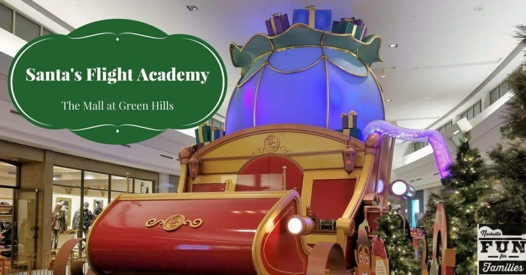 2017 Nashville Christmas Guide - Santa's Flight Academy at The Mall at Green Hills