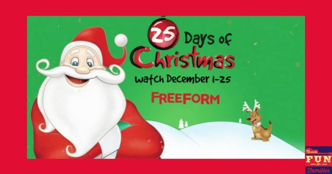2019 Freeform's 25 Days of Christmas