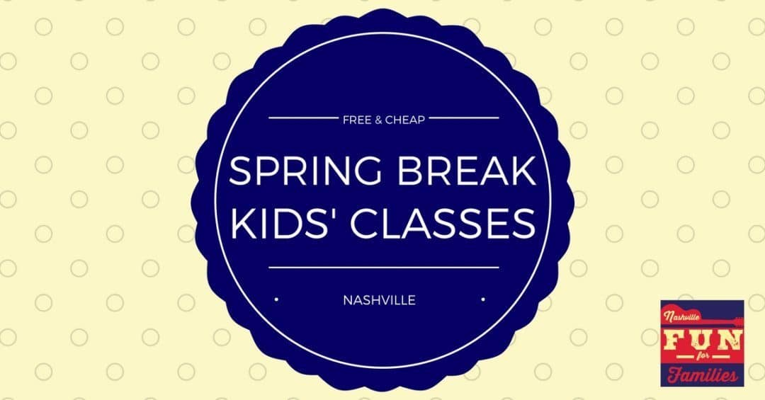Nashville Area Free and Cheap Spring Kids' Classes