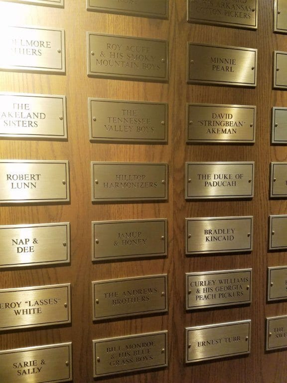 Grand Ole Opry - member plaques