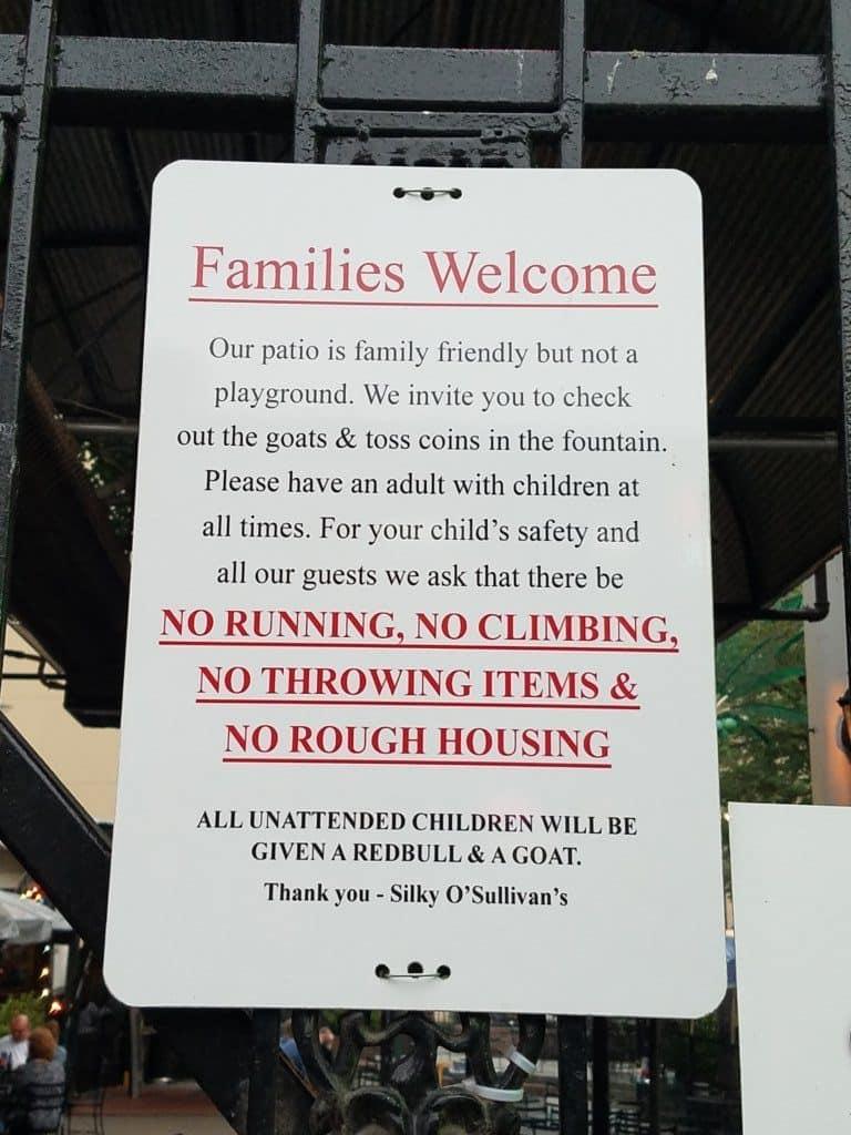 Beale Street - Osullivans family sign