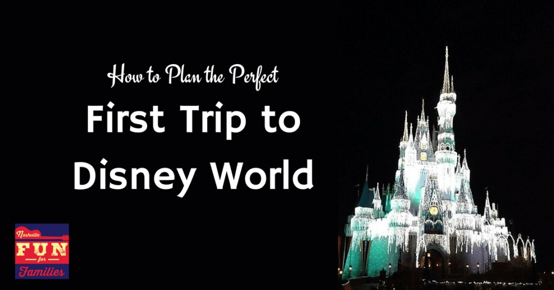 How to Plan the Perfect first trip to Disney World