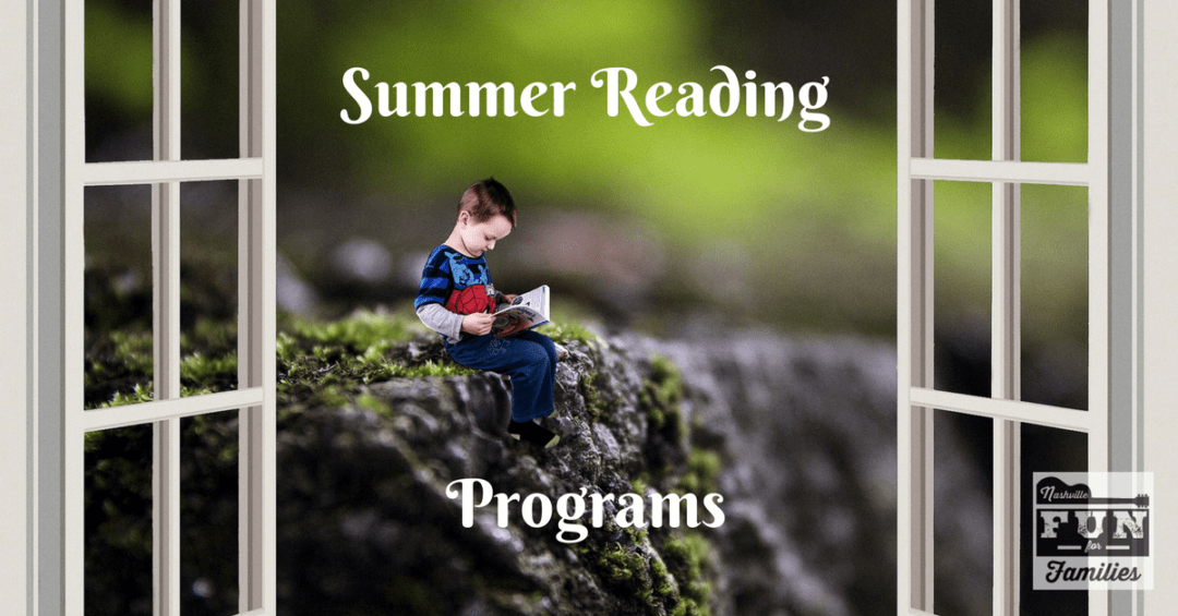 Nashville Family Fun Summer Guide - Summer Reading Programs