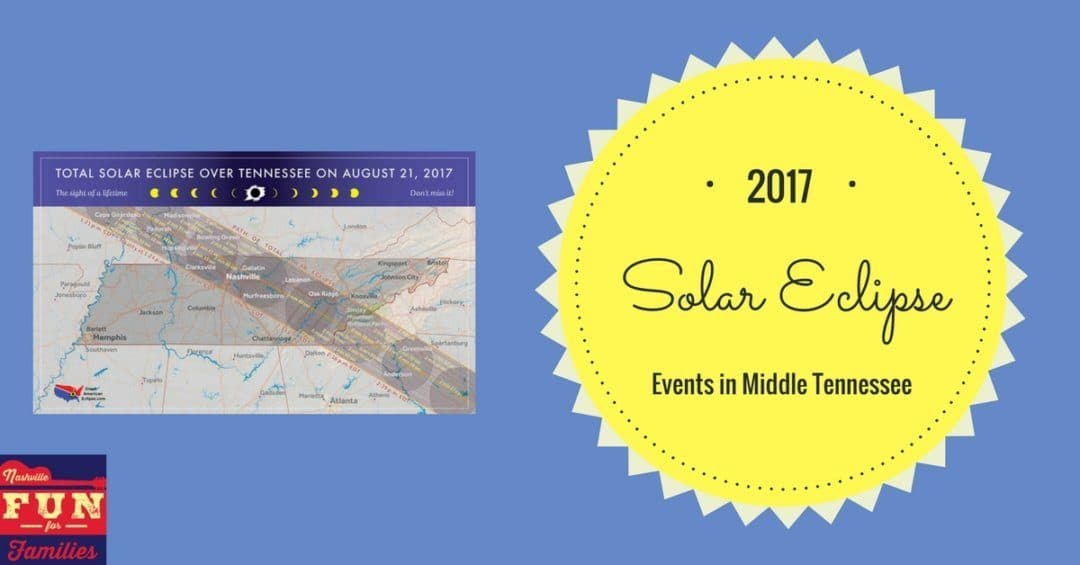 Solar Eclipse Events in Middle Tennessee