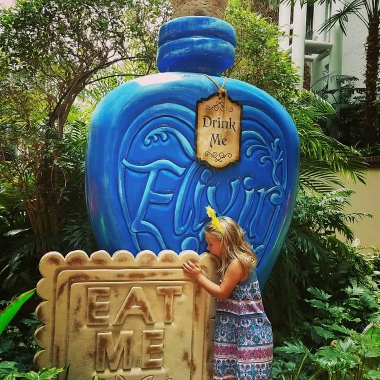 Summerfest at Gaylord Opryland Hotel - eat me, drink me