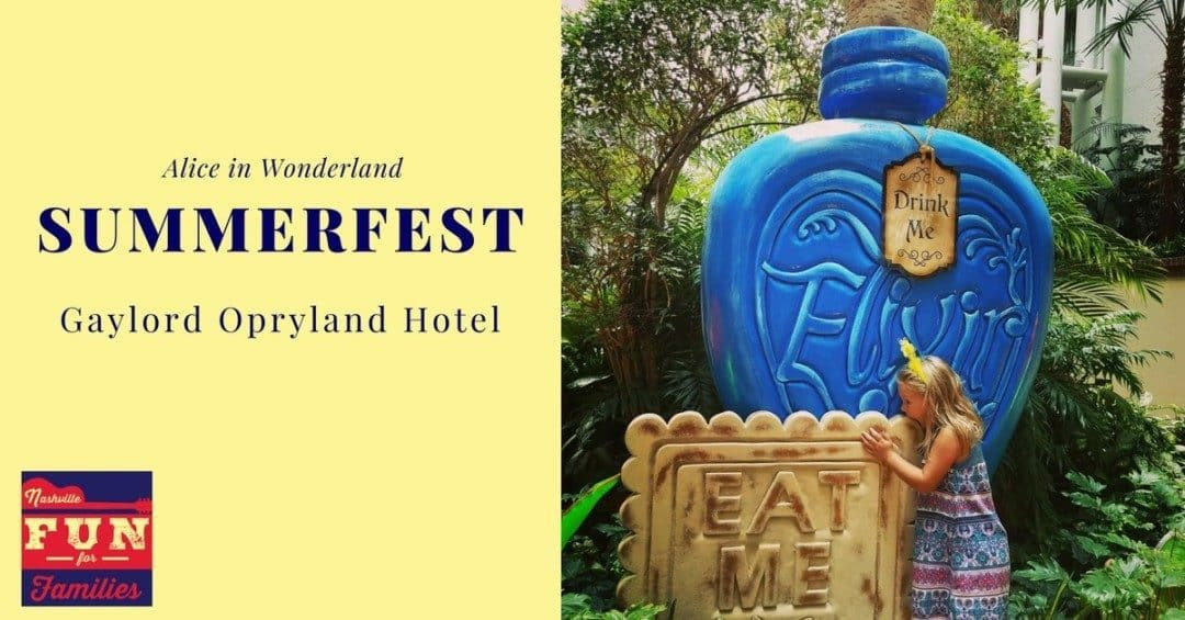 Experience SummerFest at Gaylord Opryland Hotel