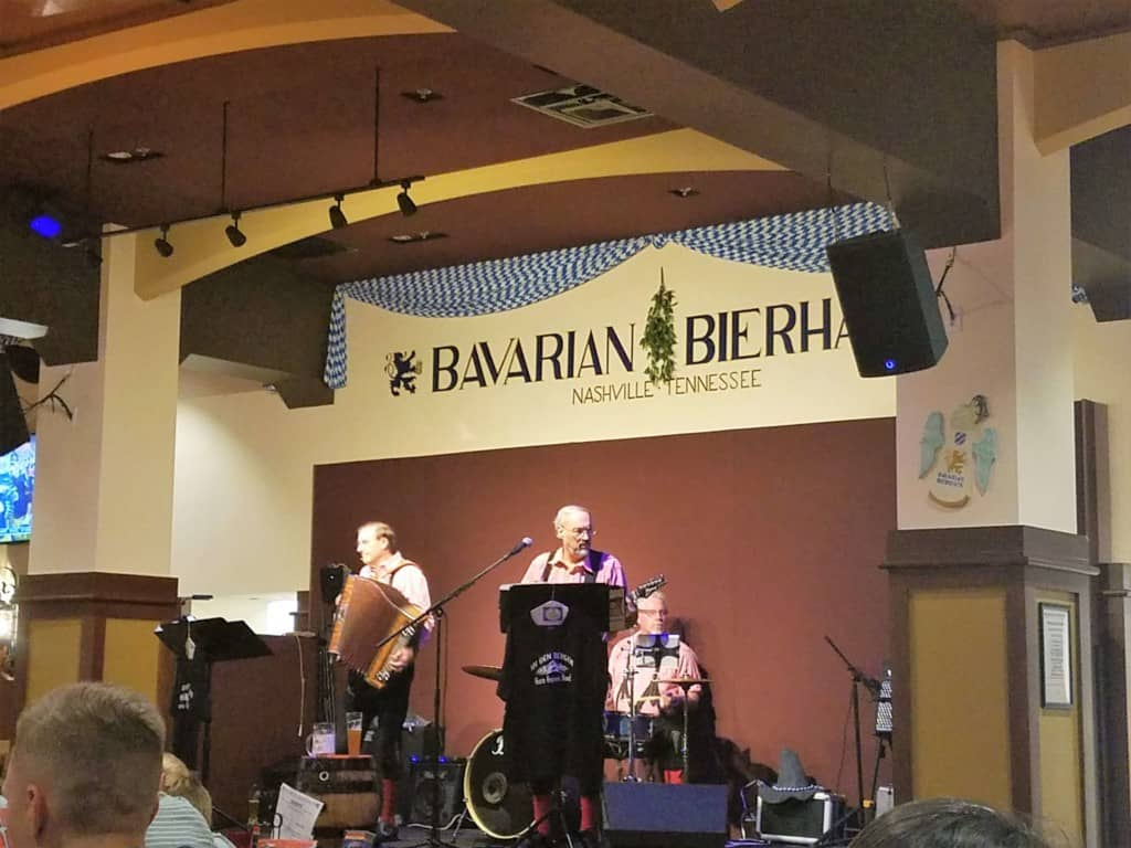 Restaurants in Opry Mills Mall - Bavarian Bierhaus polka band