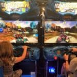 Restaurants in Opry Mills Mall - Boat driving arcade game at Dave and Busters