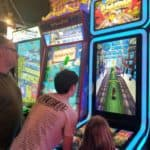 Restaurants in Opry Mills Mall - Running game at Dave and Busters