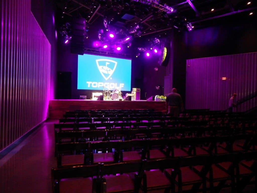 Topgolf Nashville - Music venue with chairs