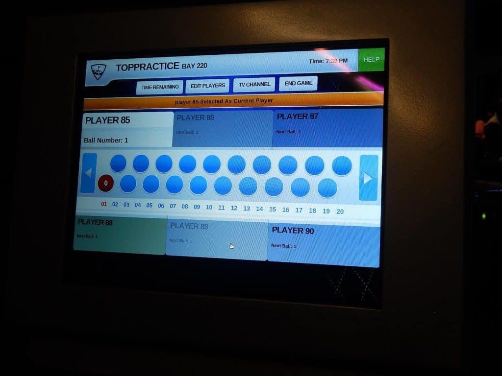Topgolf Nashville - Score computer