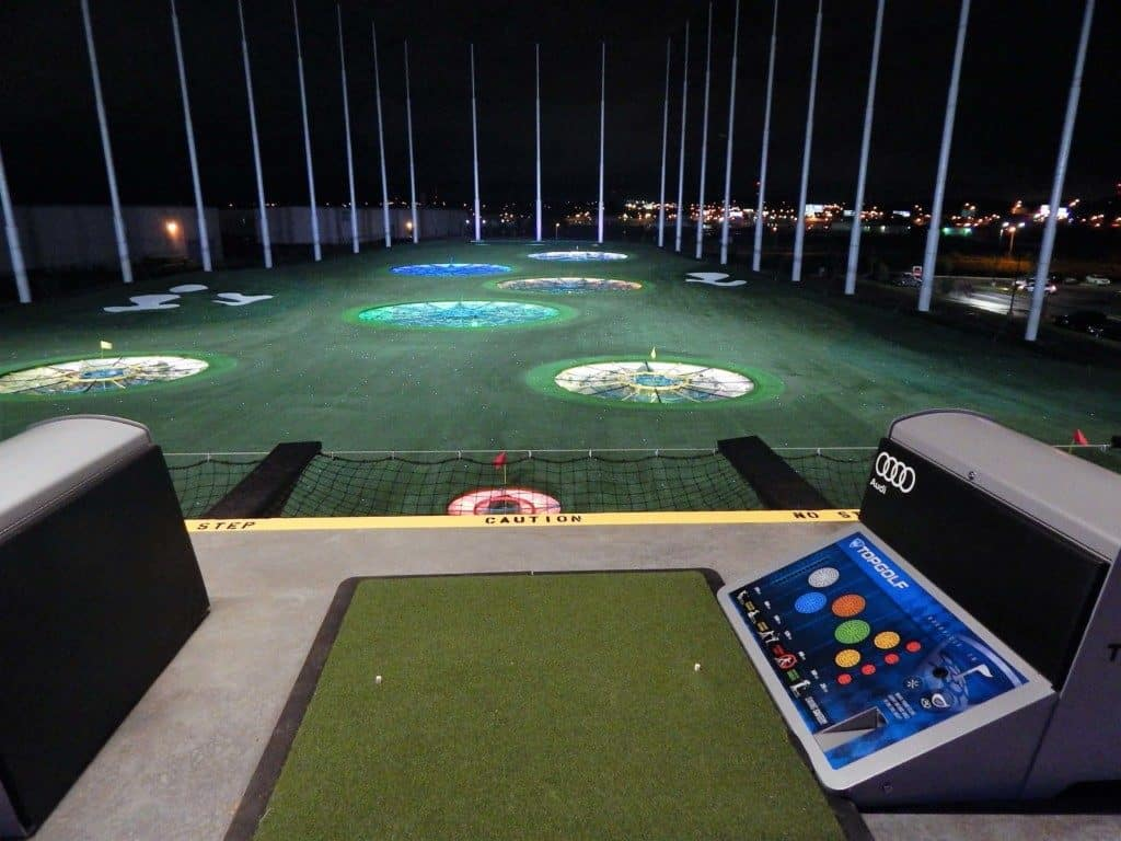 Topgolf Nashville - Third floor putting bay