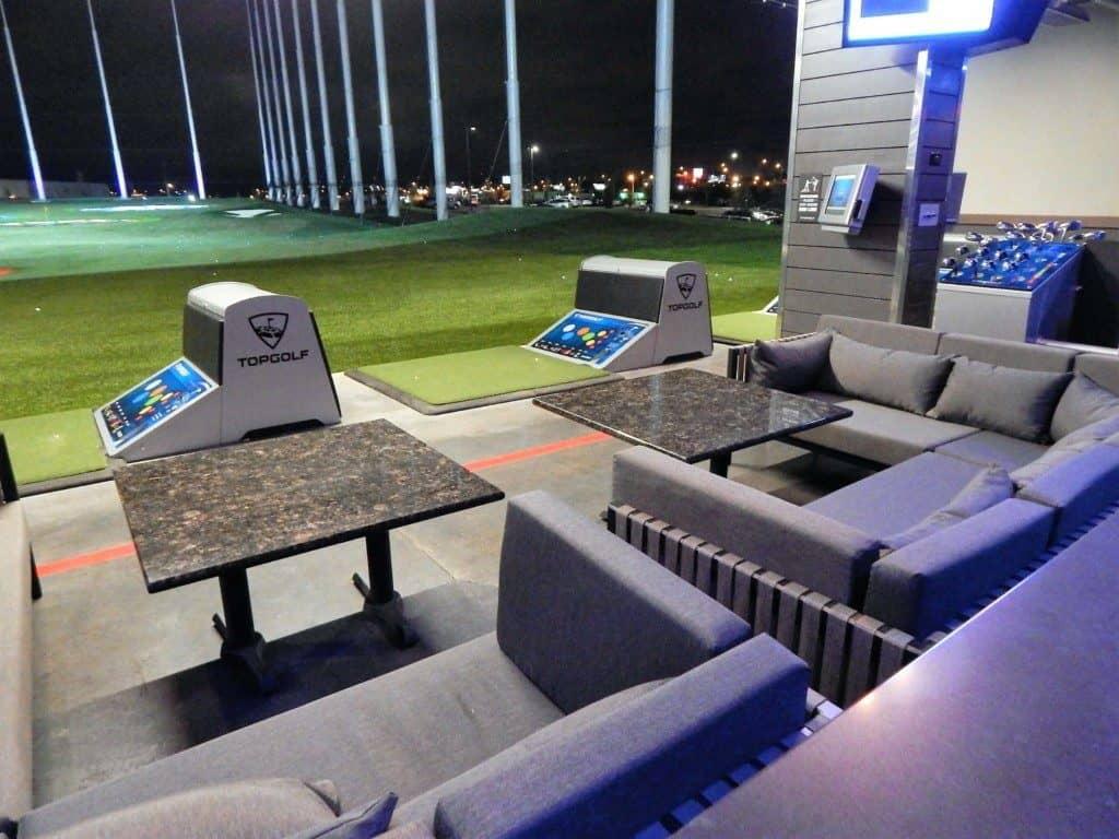 Topgolf Nashville - VIP area