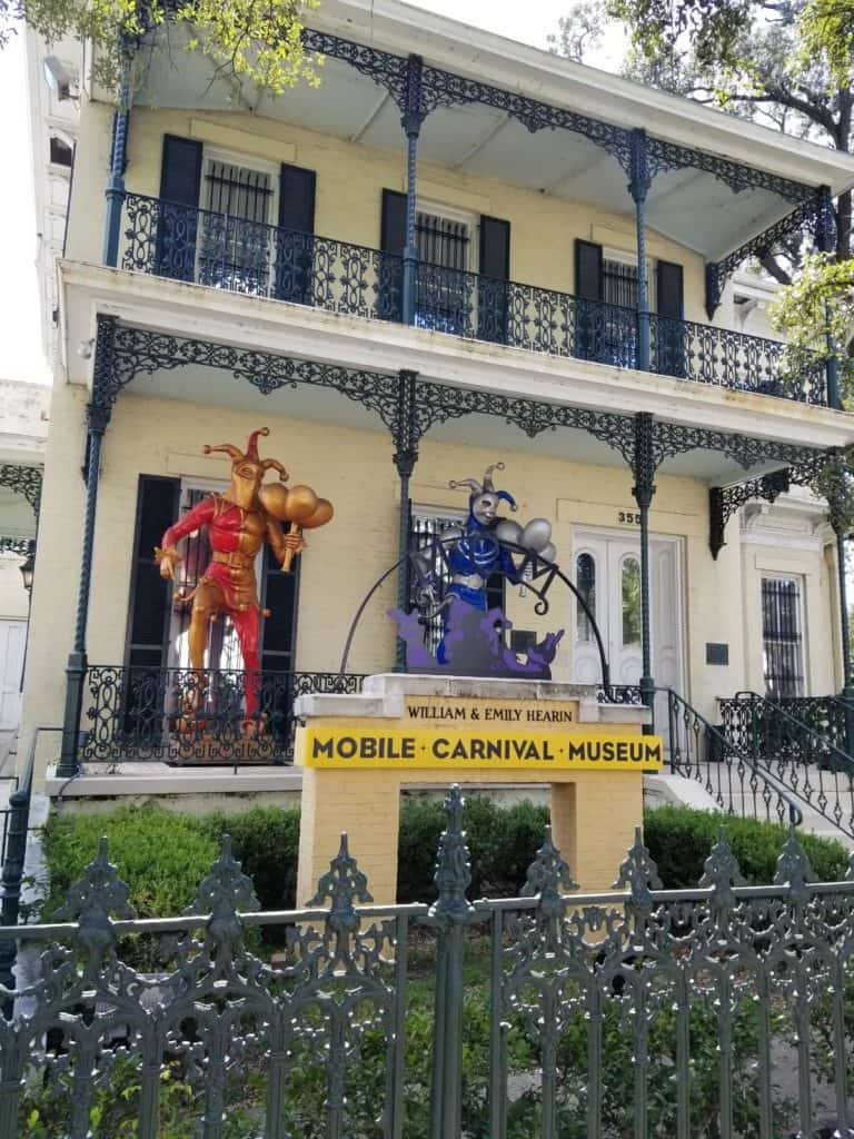 Mobile Carnival Museum front exterior