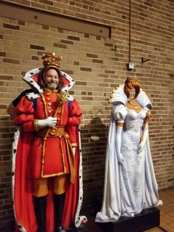 Mobile Carnival Museum mannequins