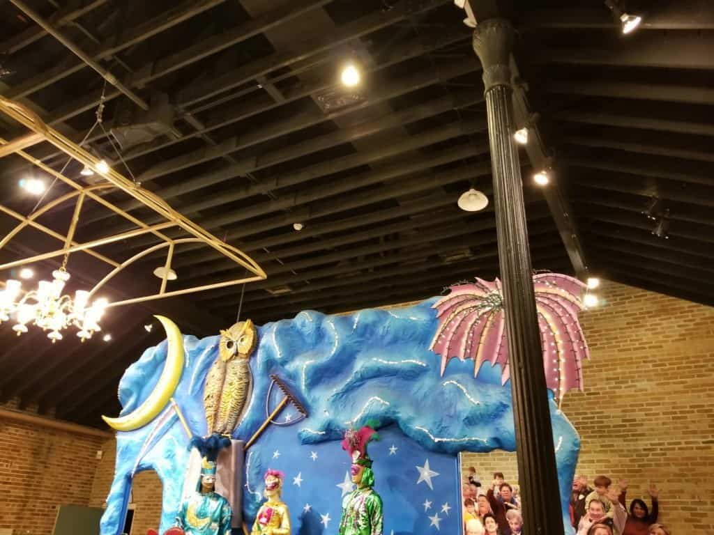 Mobile Carnival Museum float decorations