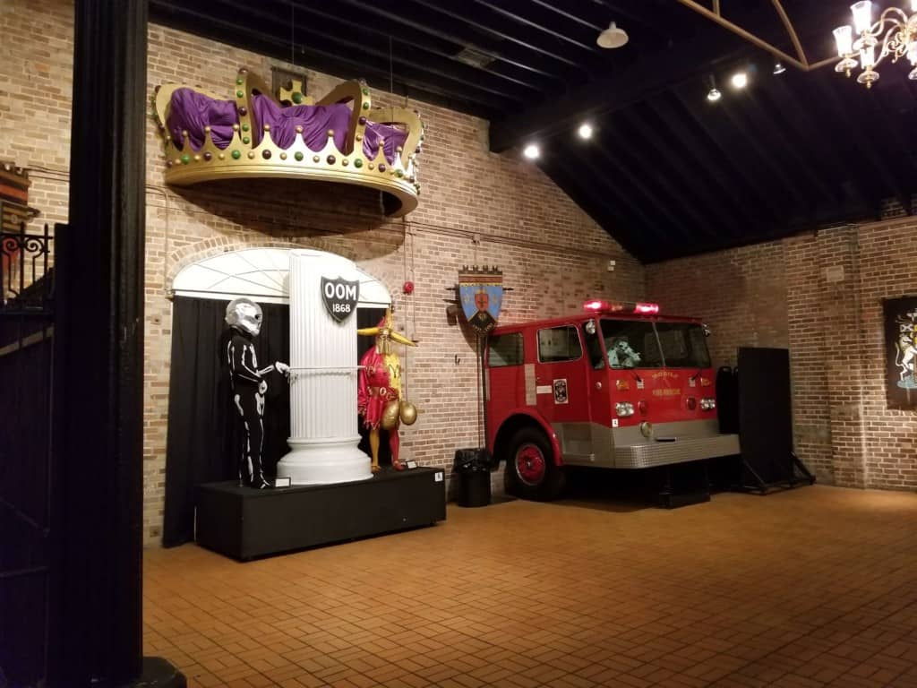 Mobile Carnival Museum truck display