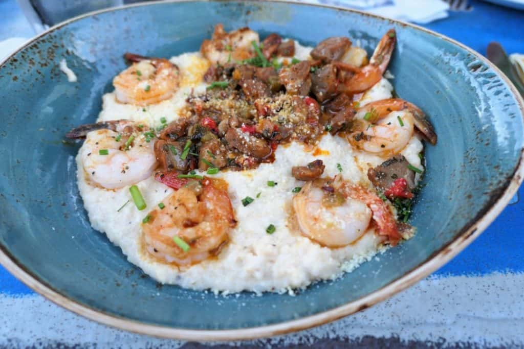 Margaritaville Island Hotel Pigeon Forge - restaurant - shrimp and grits