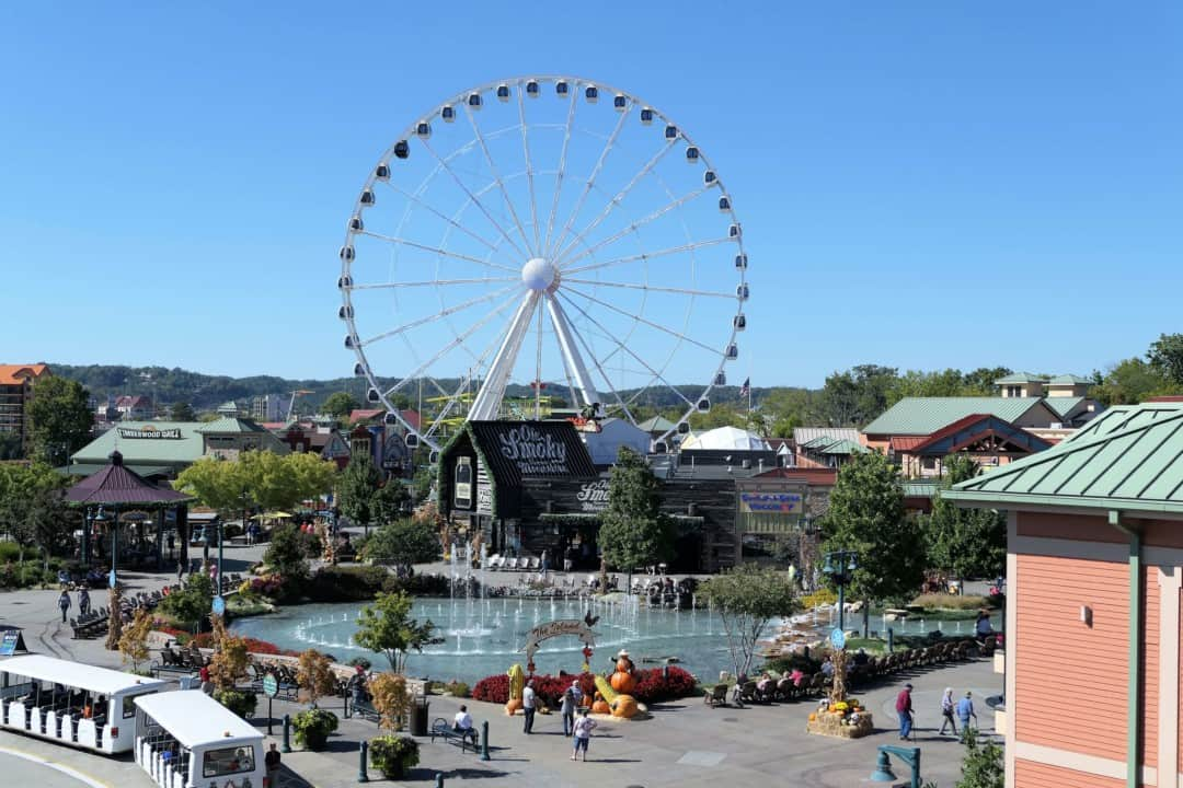 Margaritaville Island Hotel Pigeon Forge - view of the Island wheel