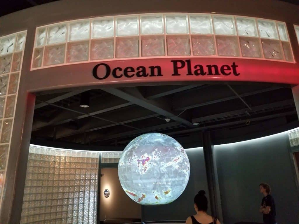 Gulf Quest ocean planet exhibit