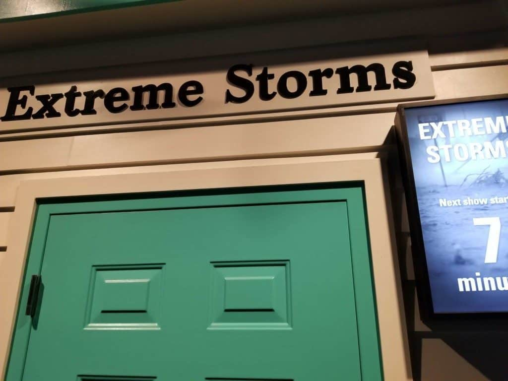 Gulf Quest extreme storms exhibit