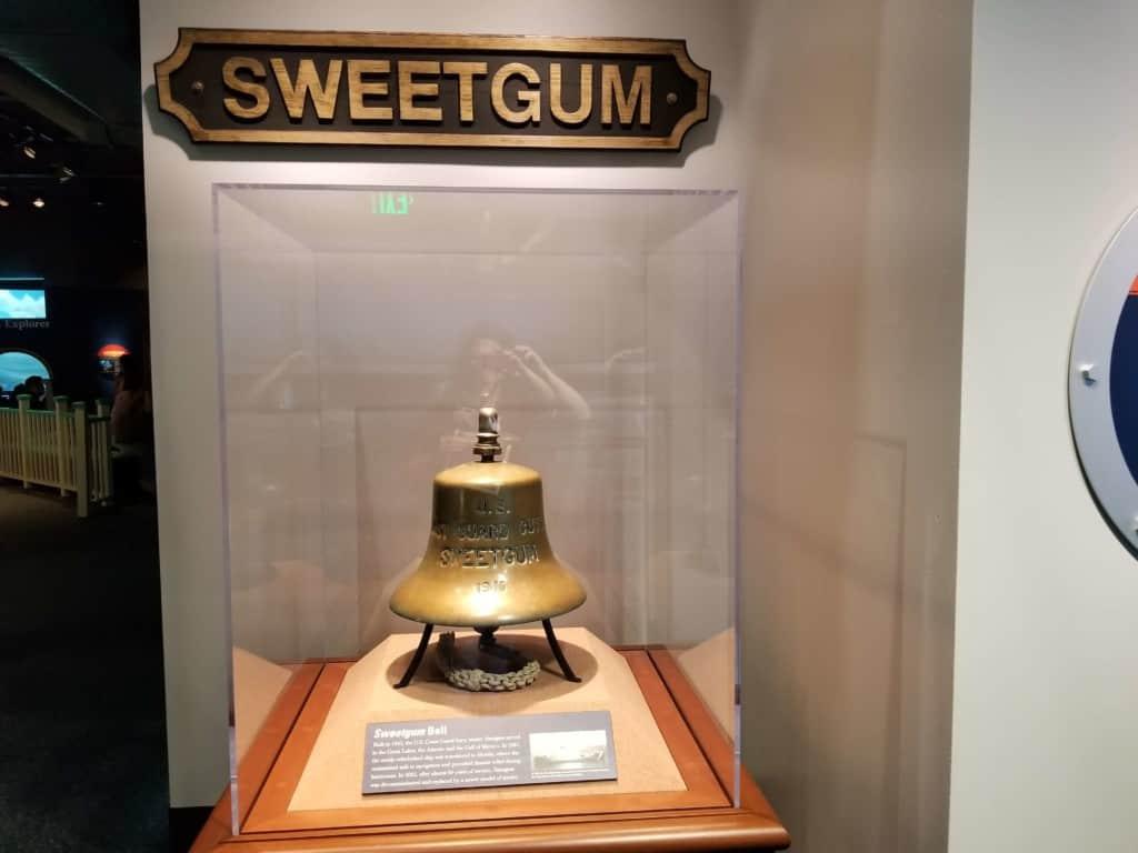 Gulf Quest sweetgum display